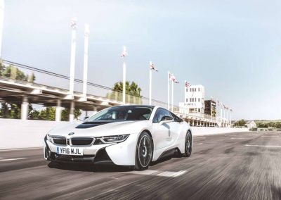 Photo of a BMW i8 at Goodwood House