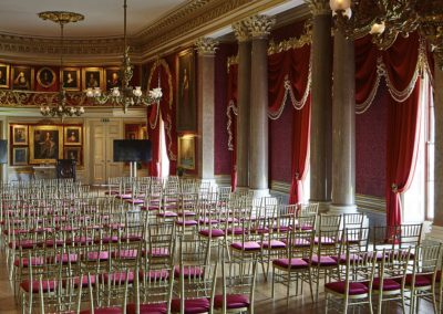 Photo of a wedding at Goodwood House