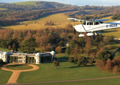 Photo flying over Goodwood House