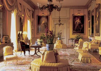Photo of one of the lounges at Goodwood House