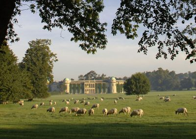 Photo of Goodwood House within it's estate