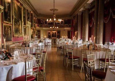 Photo of one of the dining rooms at Goodwood House