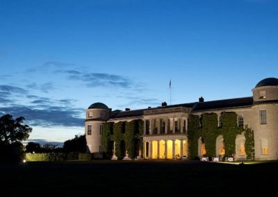 Photo of Goodwood House at night