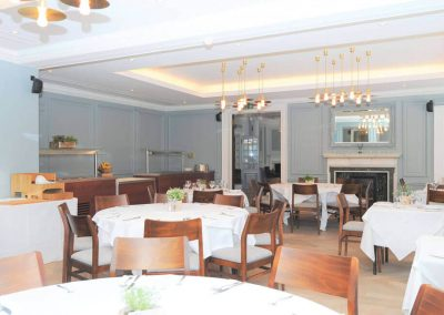 Photo of the main dining room at Gorse Hill