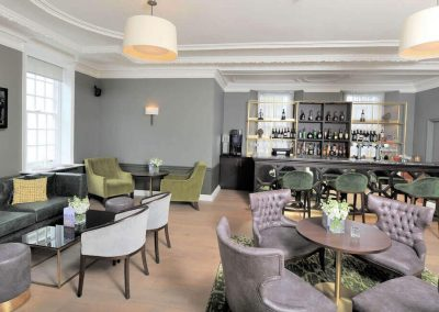 Photo of the bar at Gorse Hill