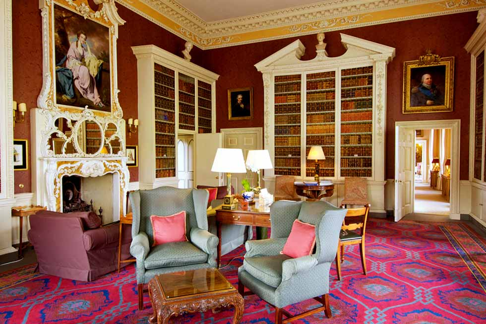Image of Hartwell House's library
