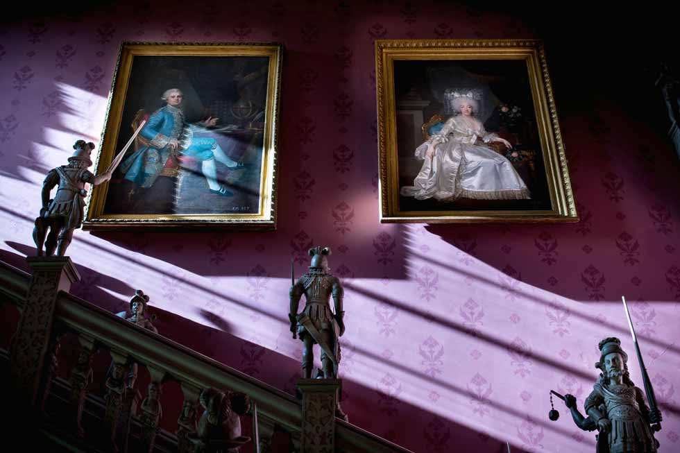 Image of some of the art in Hartwell House