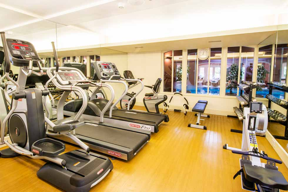 Image of the Gym at Hartwell House