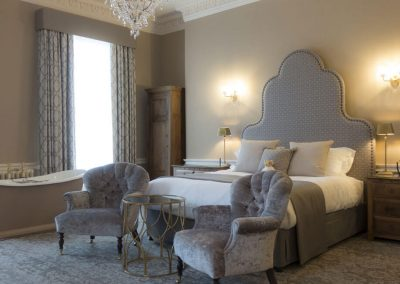 Photo of a classic bedroom at Hawkstone Hall