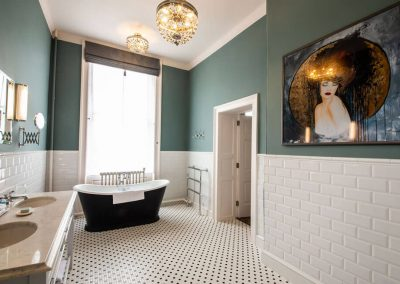 Photo of the bathroom of a Classic Twin bedroom