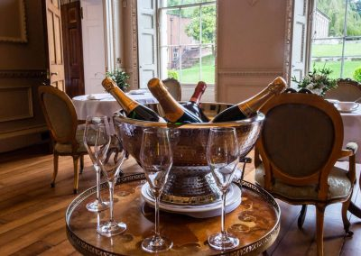 Photo of the drinks at Hawkstone Hall