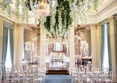 Photo of a wedding at Hawkstone Hall