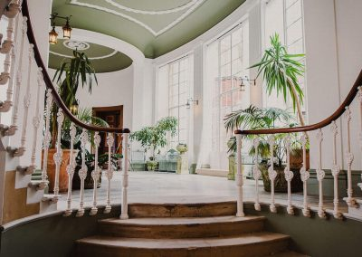 Photo of the Winter Garden at Hawkstone Hall