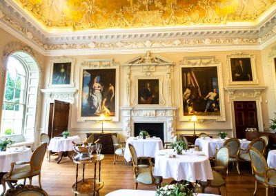 Photo of one of the corporate dining options at Hawkstone Hall