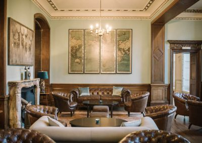 Photo of the lounge at Hawkstone Hall