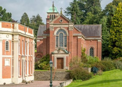 Photo of the Chapel at Hawkstone Hall