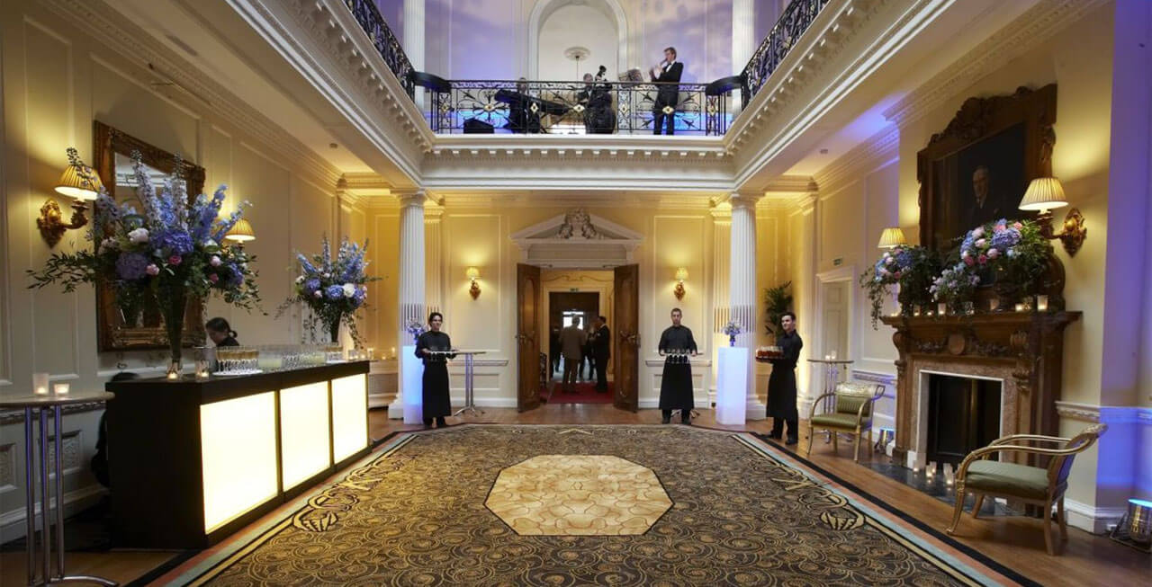 Photo of the main hall at Hedsor House