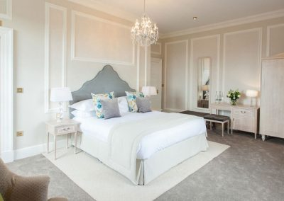 Photo of one of the bedrooms at Hedsor House