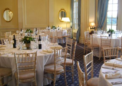 Photo of the Hedsor House dining room