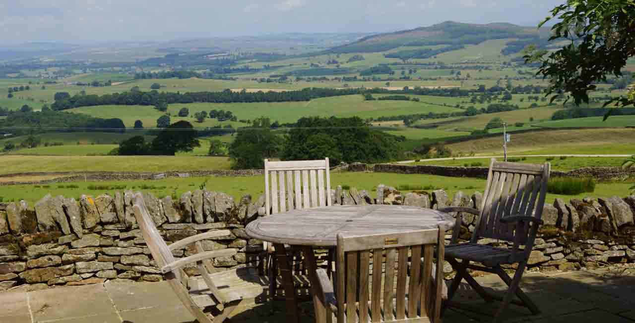 Stunning views from Maylie Cottage