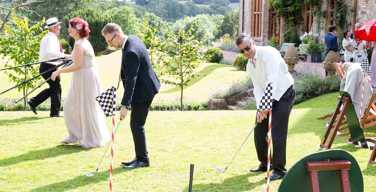 Huntsham Court has many many many types of activities for you to try!