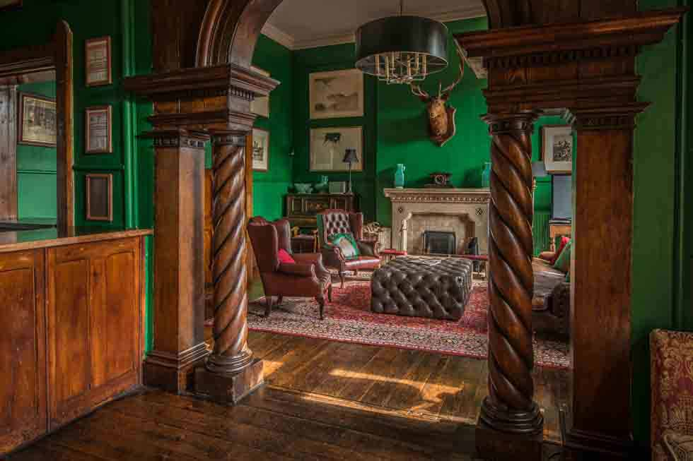 Huntsham Court will impress in every room