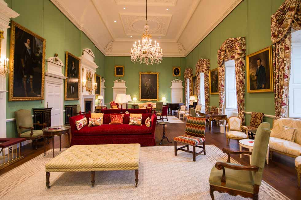 Photo of the Grand Salon at Kinross House