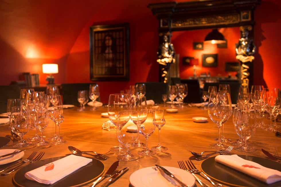 Photo of the private dining room at Kinross House