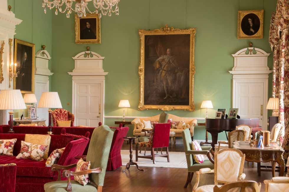 Photo of one of the majestic rooms of Kinross House