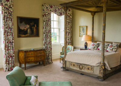 Photo of the Exeter Bedroom at Kirtlington Park