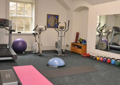 Photo of the gym at Kirtlington Park