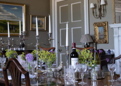 Photo of the dining Room at Kirtlington Park
