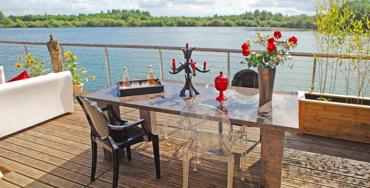 Enjoy a drink whilst drinking in the views