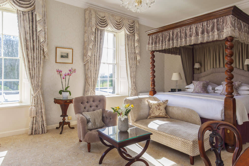 Photo of one of the Grand Suites at Lucknam Park
