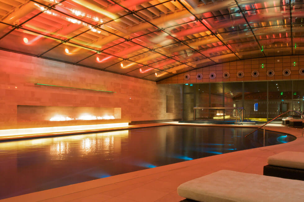 Photo of the health spa at Lucknam Park