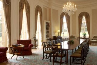 Photo of one of the reception rooms at Luton Hoo