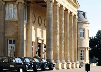 Photo of of the Luton Hoo taxis