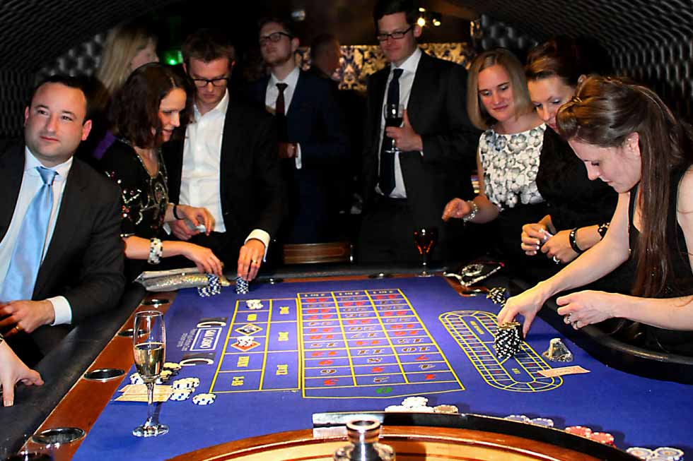 North Cadbury Court has it's own Casino in the basement!
