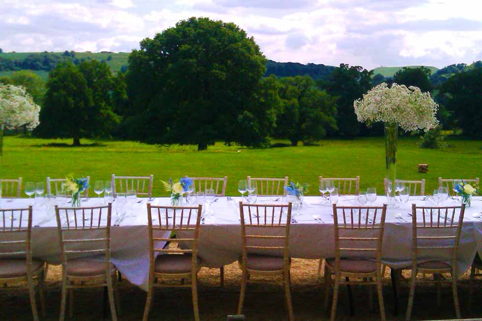Host your dinner party at North Cadbury Court