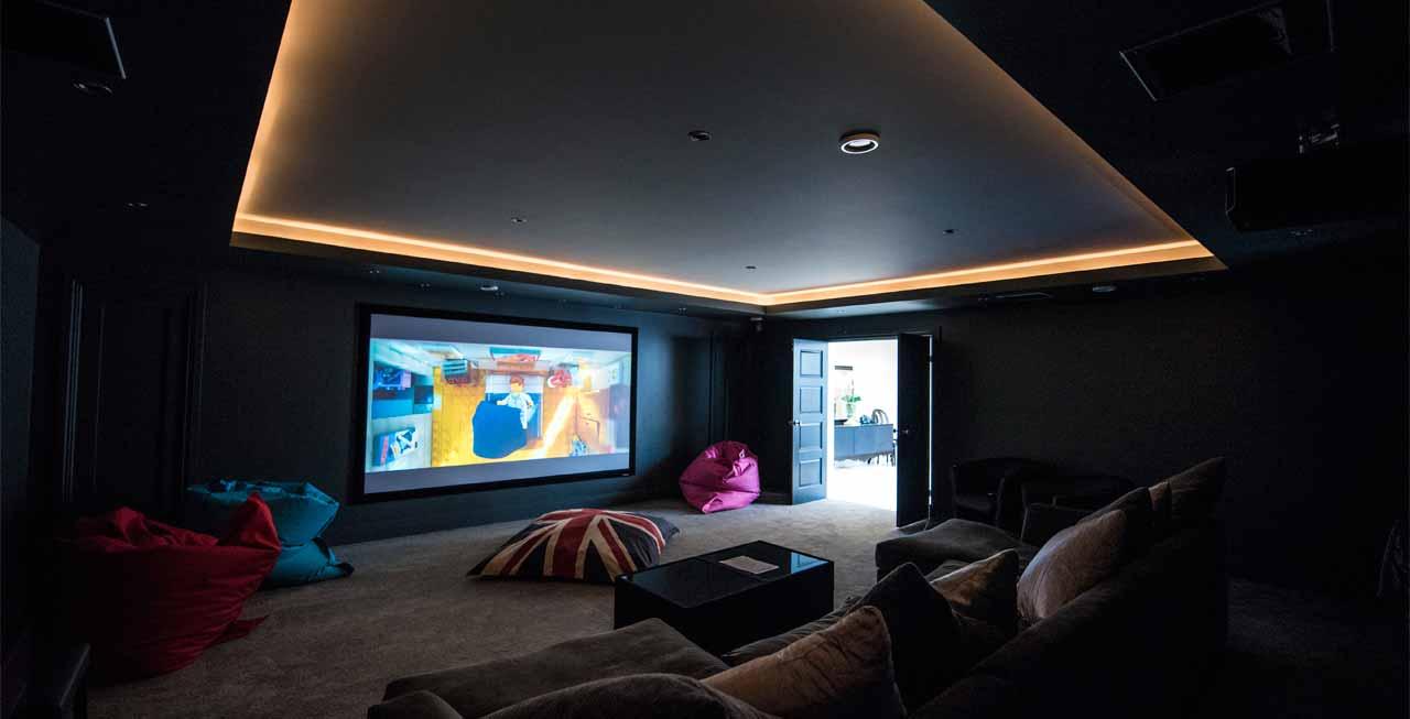 Photo of Holden Fields amazing cinema room