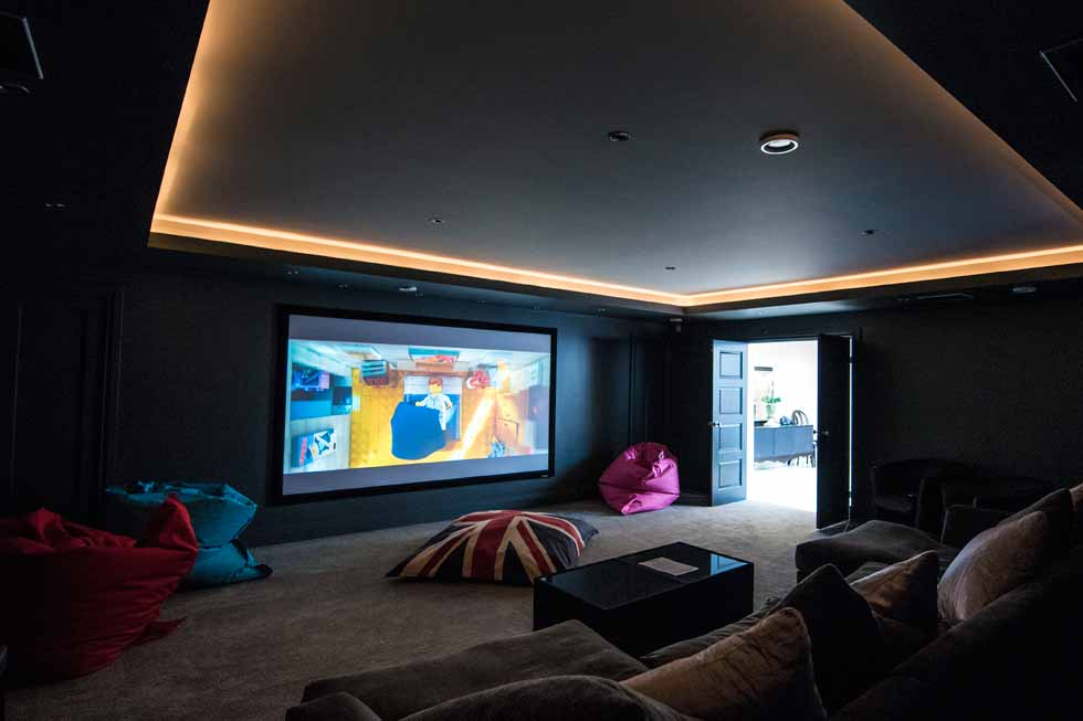 Photo of Holden Fields cinema room
