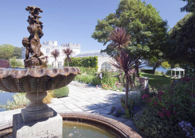 Photo of the Italian Garden at Pennsylvania Castle Estate