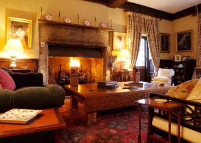 Pentrehobyn Hall the Mansion for rent in Wales 4