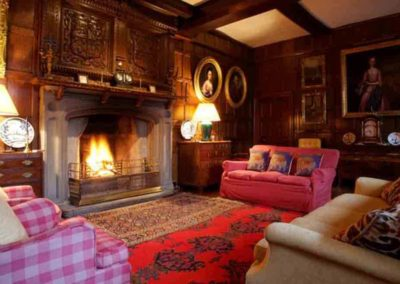Pentrehobyn Hall the Mansion for rent in Wales 6