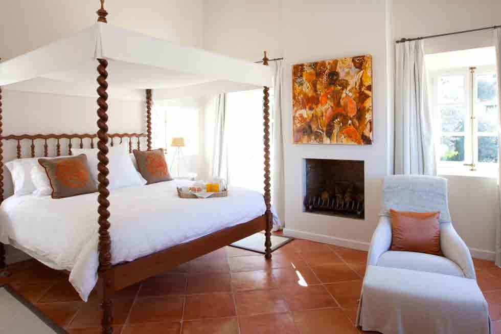 One of the beautiful bedrooms at Sa Llupia