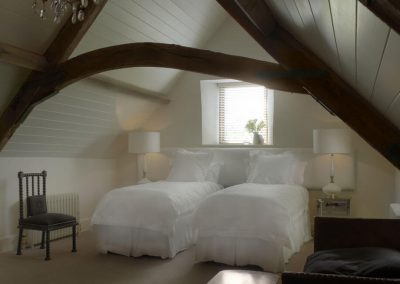 Photo of one of the Arisan Barn twin bedroom
