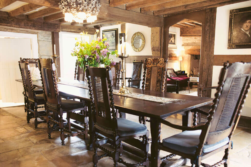 Photo of Temple Guiting Estate's dining room