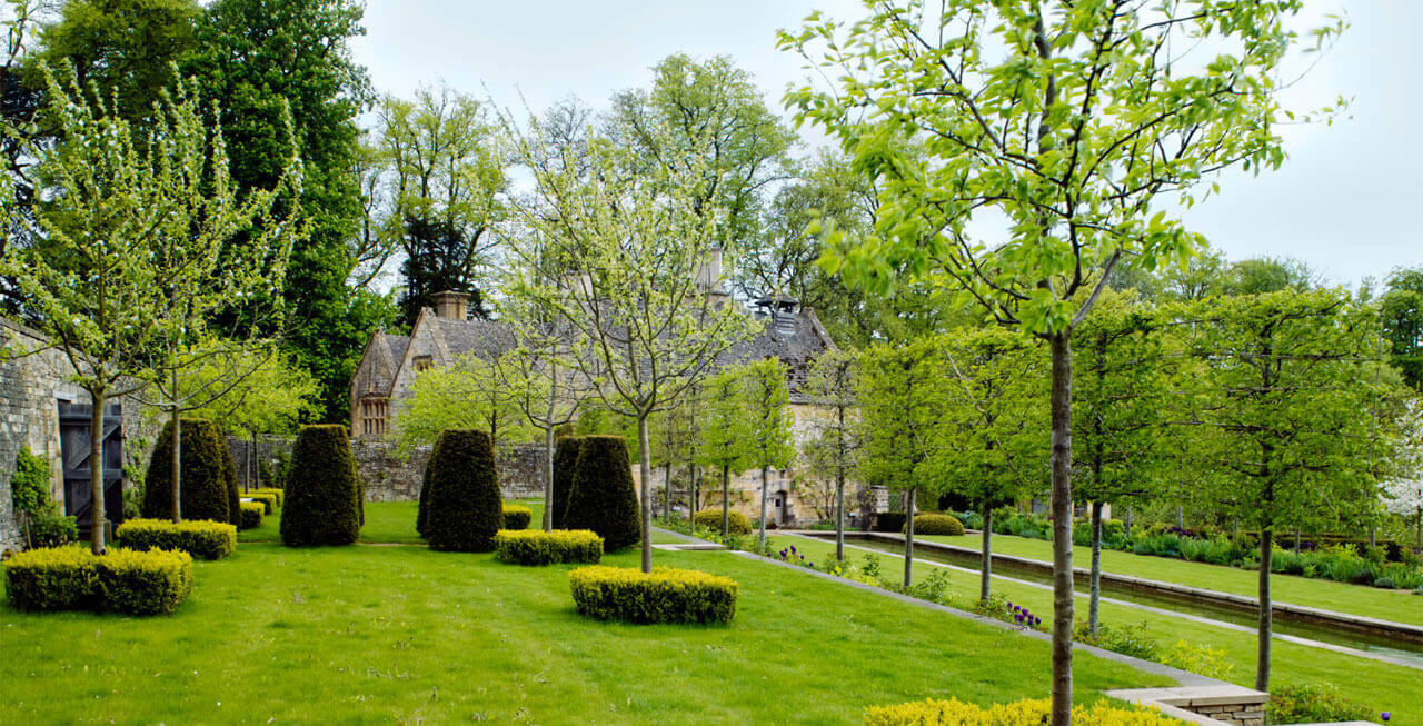 Photo of Arisan Manor's award winning gardens
