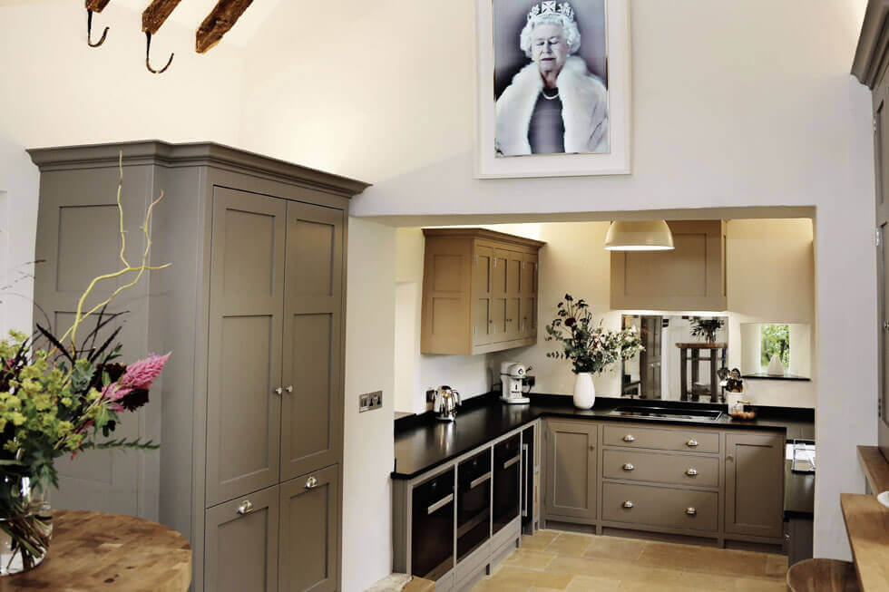 Photo of the Temple Guiting Manor Kitchen