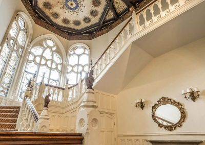 Photo of the gothic staircase at The Elvetham